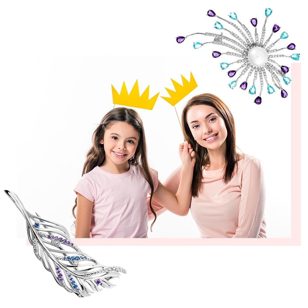 family look парные украшения для мамы и дочки