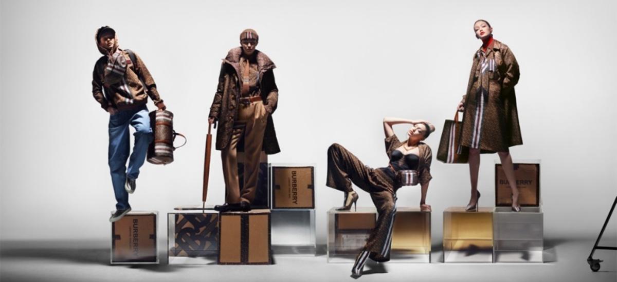 Джиджи Хадид в рекламной кампании Burberry