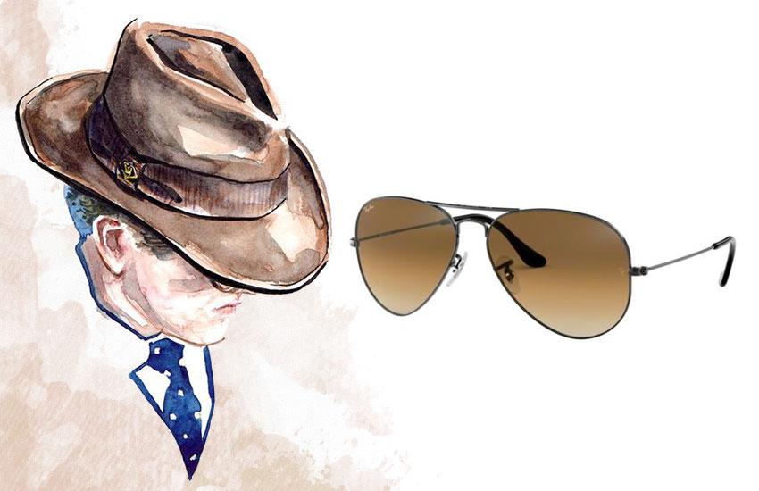 Мужской стиль аксессуары солнцезащитные очки
