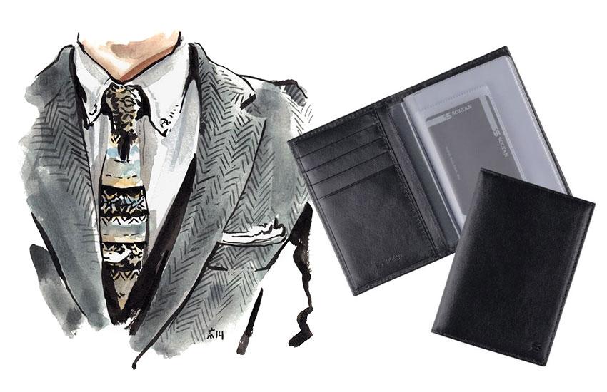 Мужской стиль аксессуары кожаные изделия