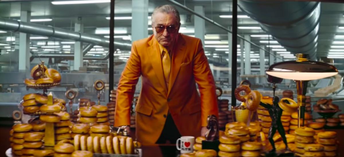 Гангстер и бейглы: Роберт де Ниро в рекламе булочек