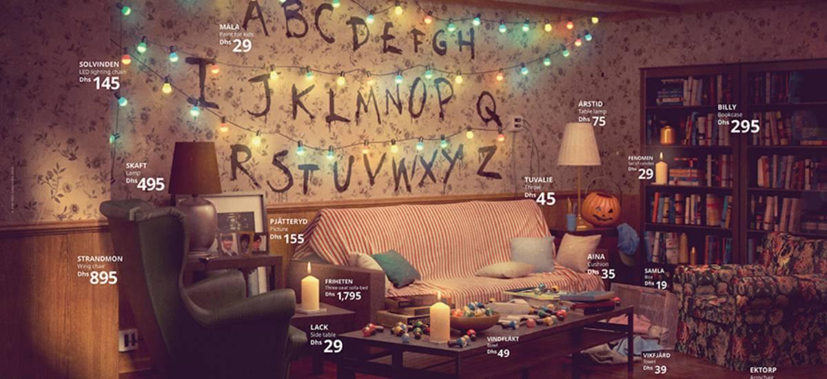 IKEA воссоздала интерьеры из сериалов