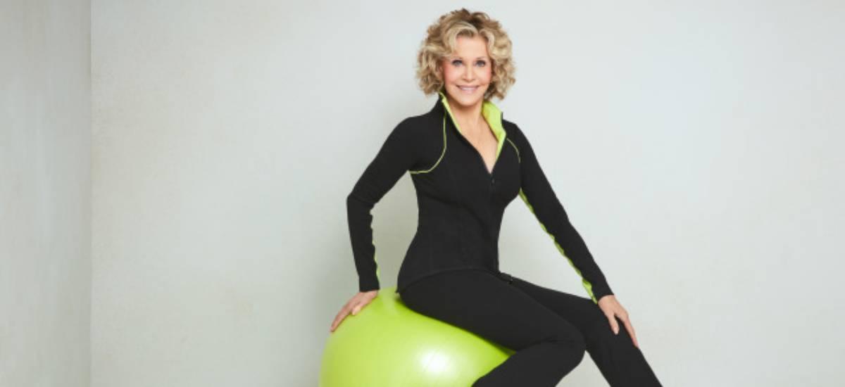 Джейн Фонда выпустила коллекцию одежды для фитнеса