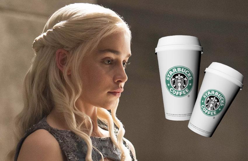 Игра престолов Дайенерис кофе киноляп