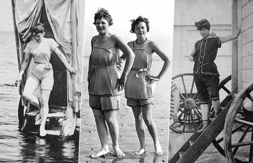 Эволюция купальника 100 лет история моды
