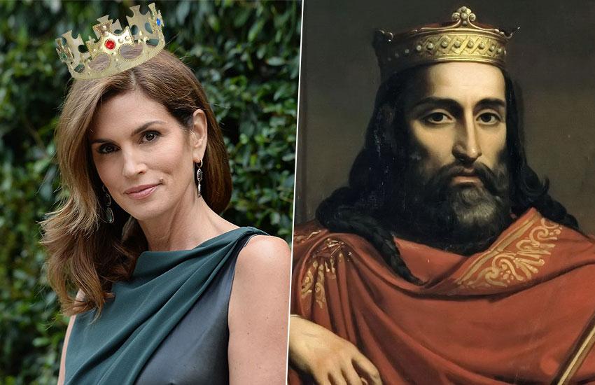 Синди Кроуфорд – Карл I Великий