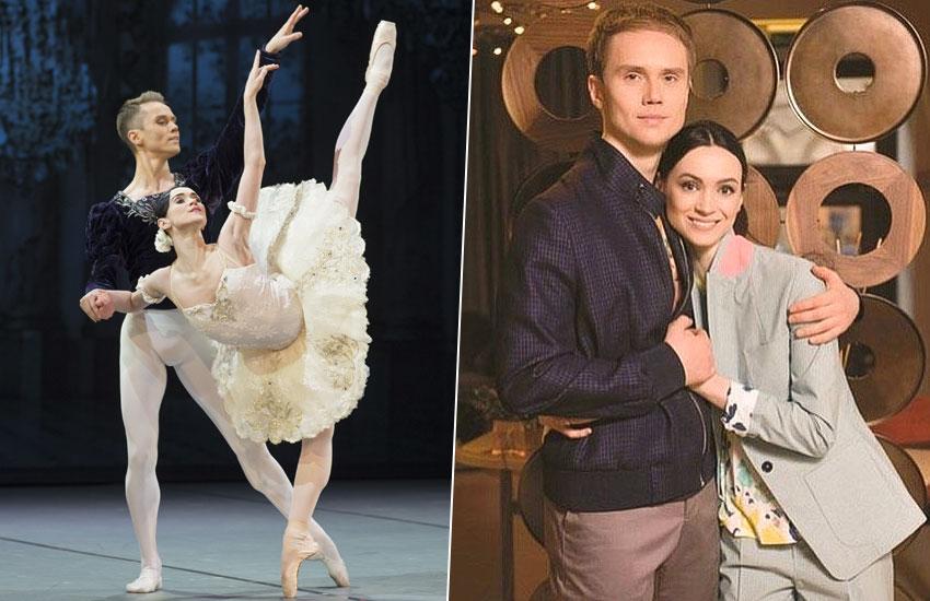 Олеся Новикова и Леонид Сарафанов артисты балета