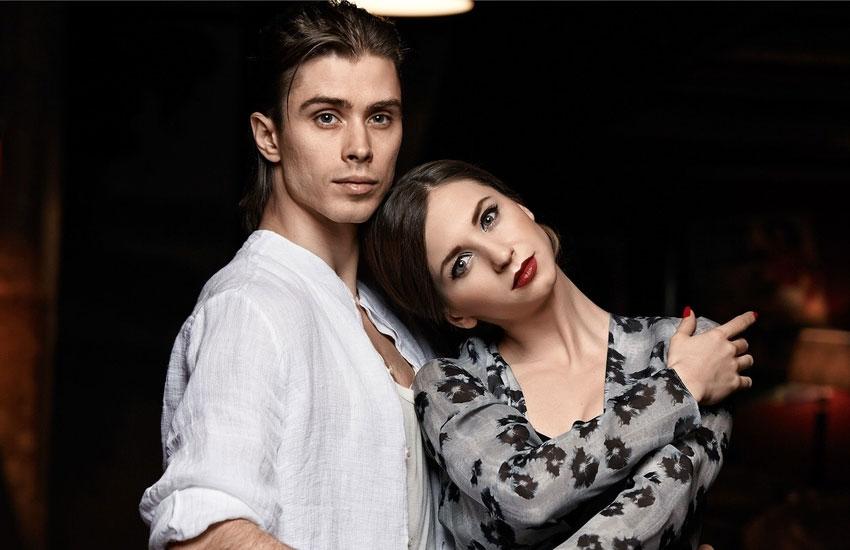 Анна Тихомирова и Артем Овчаренко артисты балета