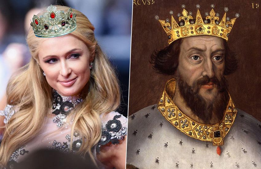 Пэрис Хилтон – Генрих II Плантагенет