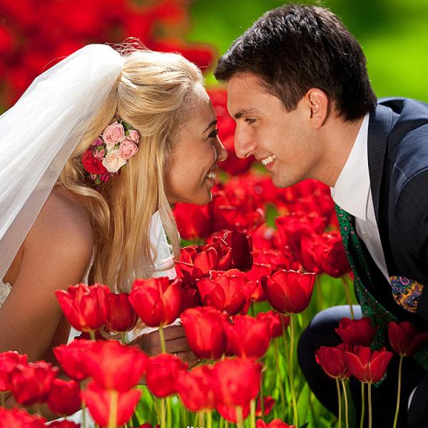 Праздник, который всегда: свадьба в цвете фиеста