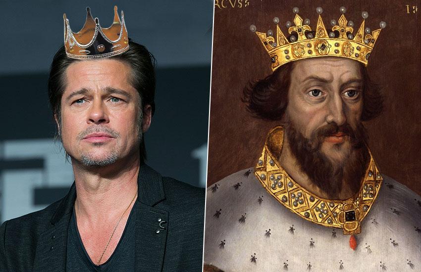 Брэд Питт – Генрих II Плантагенет