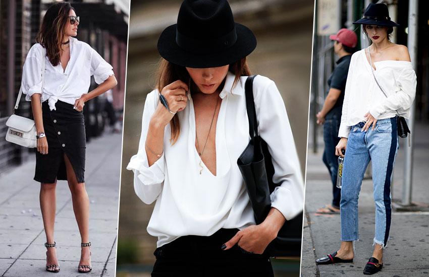 девушка в мужской рубашке советы стилиста с чем носить
