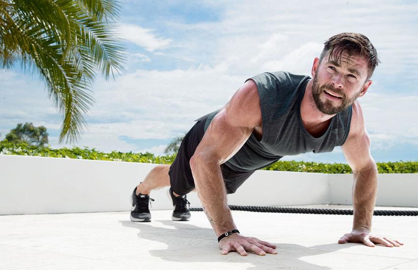 Крис Хэмсворт фитнес
