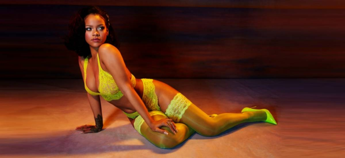 Рианна снялась в новой рекламе белья Savage x Fenty