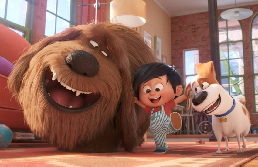 Тайная жизнь домашних животных 2 мультфильм анимация