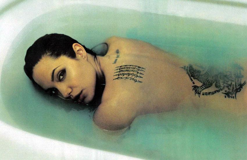 Анджелина Джоли фотография Энни Лейбовиц