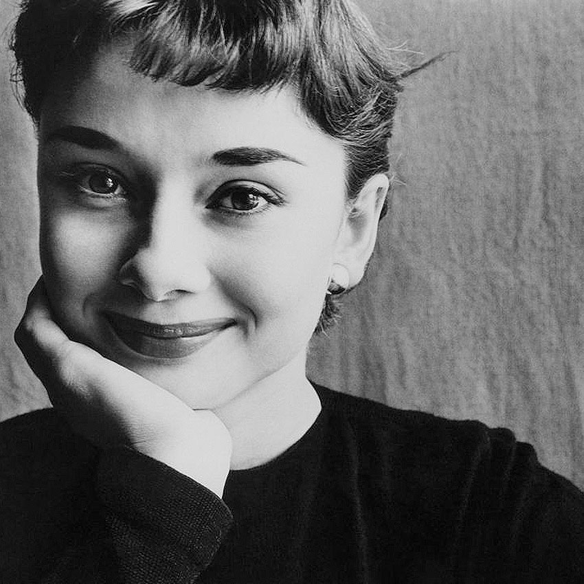 Одри Хепберн фотография Ирвин Пенн