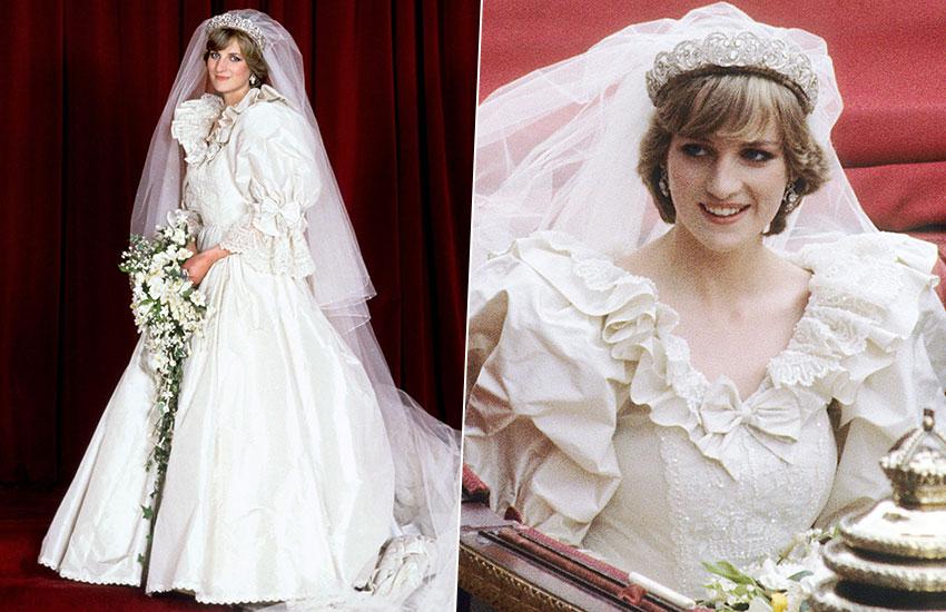 Принцесса Диана невеста лучшие свадебные платья всех времен