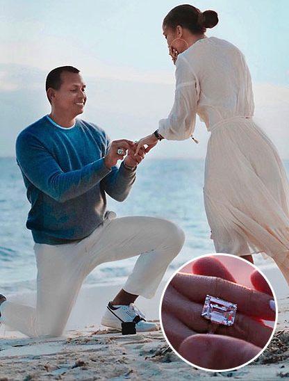 Дженнифер Лопес кольцо украшения драгоценности