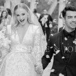 Свадьба Софи Тернер и Джо Джонаса: первое фото!