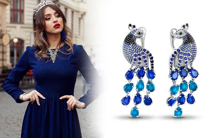 Серебряные украшения мода стиль аксессуары драгоценности ювелирные изделия тренды