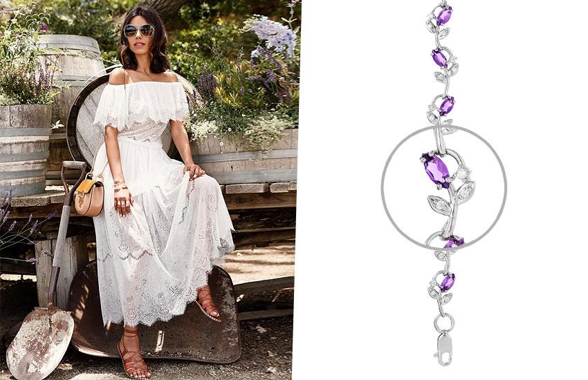 украшения мода тренды настроение подарок Париж Франция шик стиль браслет