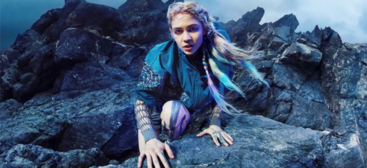 Певица Граймс снялась в рекламе Stella McCartney для Adidas