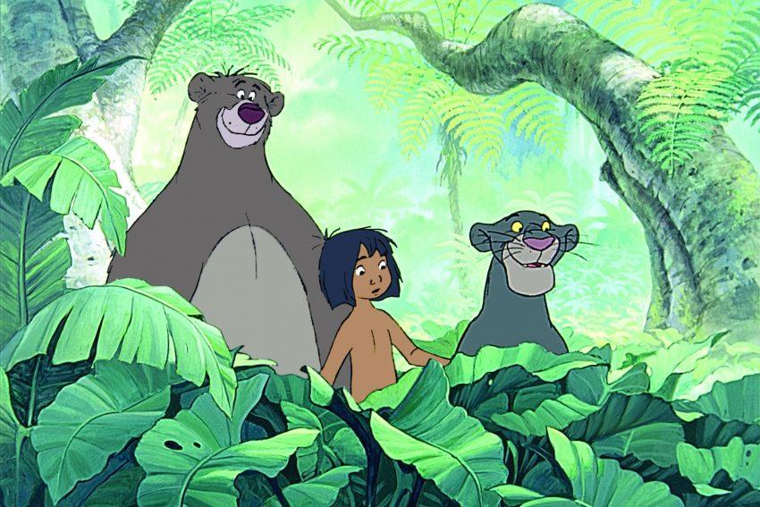 Книга джунглей фильм мультик Дисней Disney