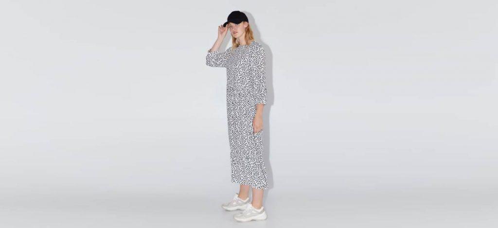 Инстаграм дня: платье в горошек из Zara