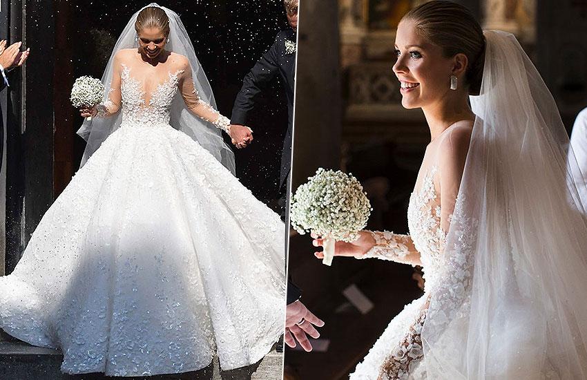 Виктория Сваровски Swarovski невеста лучшие свадебные платья всех времен