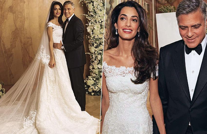 Амаль и Джордж Клуни лучшие свадебные платья всех времен