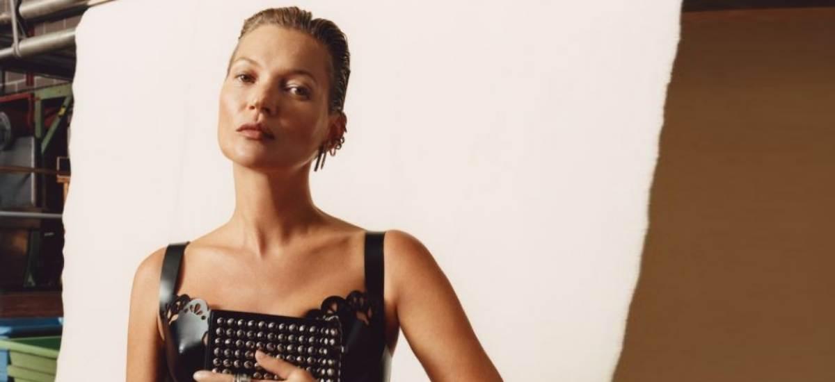 Кейт Мосс в рекламной кампании Alexander McQueen