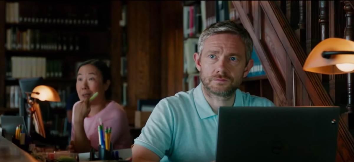 Мартин Фримен в трейлере картины «Ода радости»
