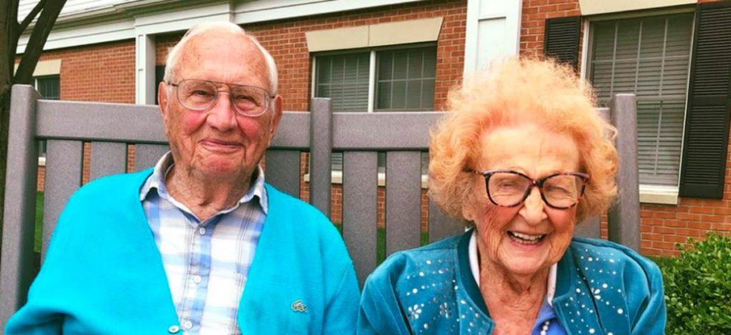 Свадьба века: 100-летние пенсионеры из Огайо поженились