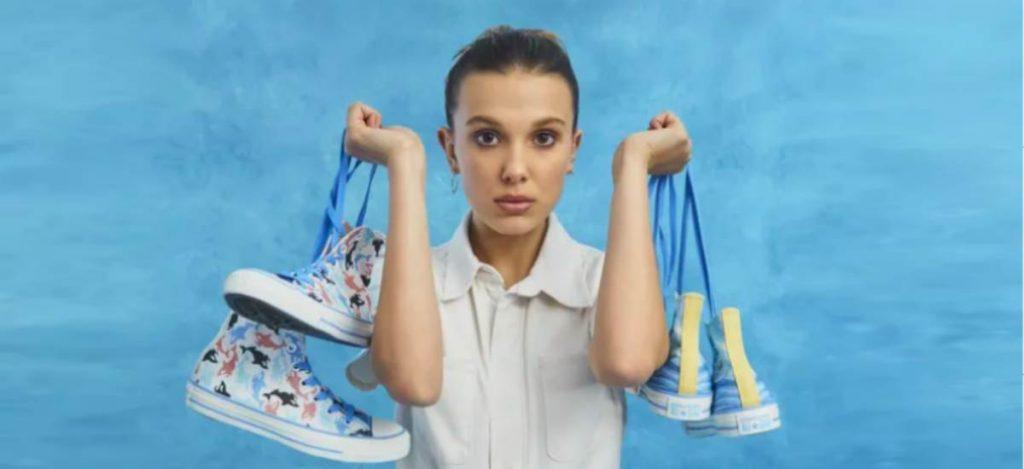 Милли Бобби Браун создала коллекцию с Converse
