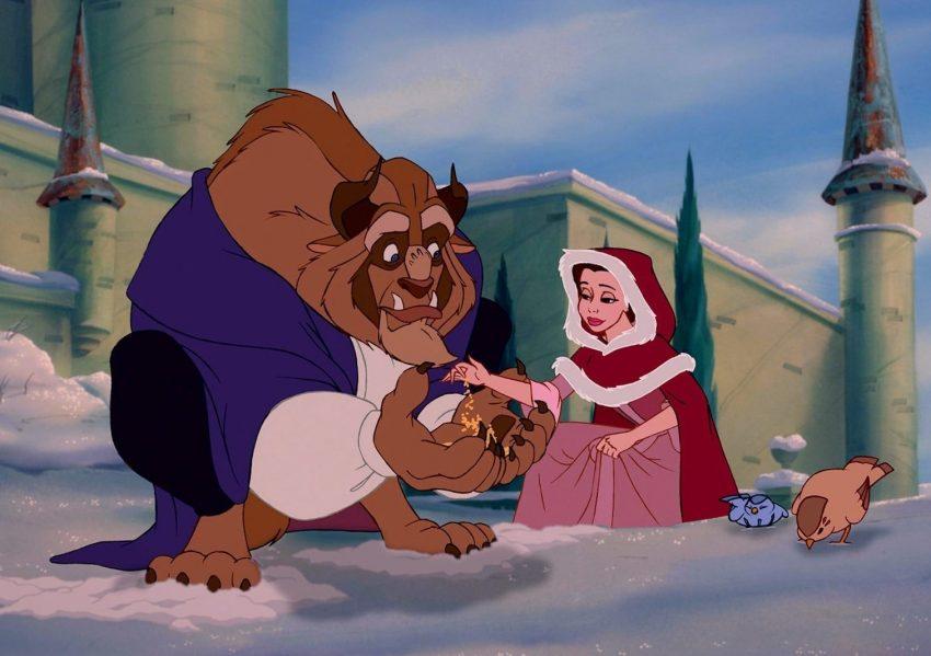 Красавица и Чудовище фильм мультик Дисней Disney
