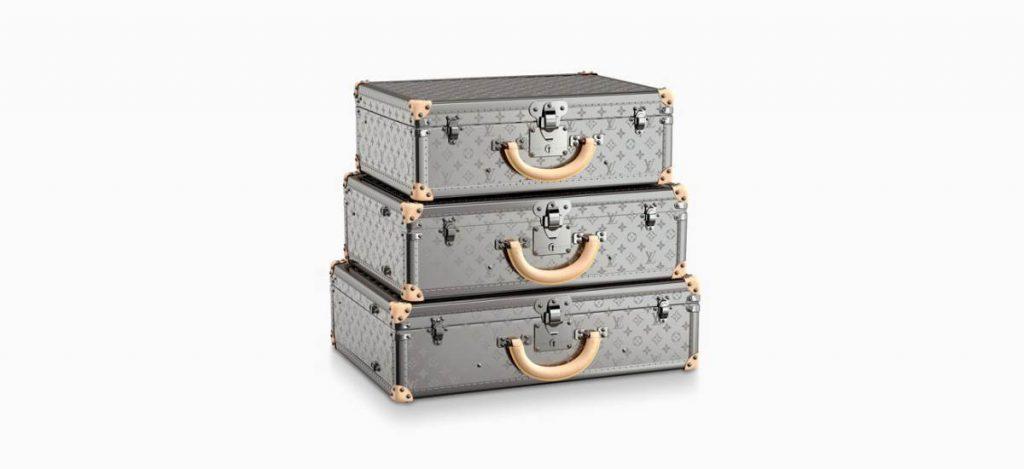 Титановый чемодан: новинка от Louis Vuitton