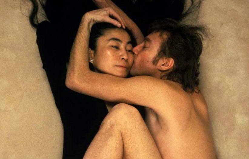 Йоко Оно Джон Леннон фотография Энни Лейбовиц