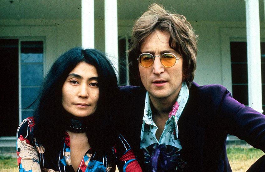 Йоко Оно и Джон Леннон муза для мужа семья звезды