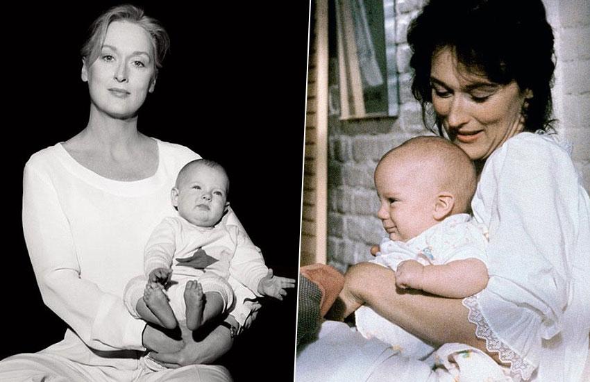 Мэрил Стрип с дочерьми Мэми Гаммер Грейс Гаммер мама дочка звезда Голливуд