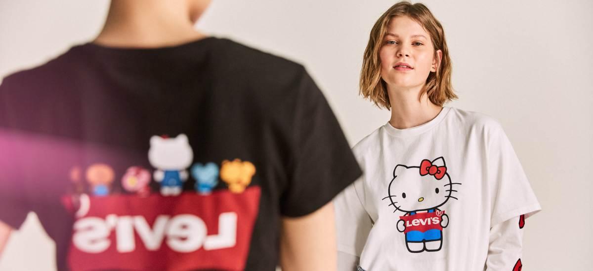 Бренд Levi's выпустил коллекцию c Hello Kitty