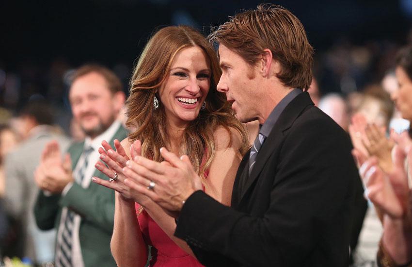 Джулия Робертс Дэнни Модер семья любовь счастливый брак муж жена супруги звезд