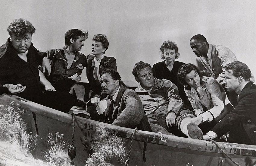 Альфред Хичкок, кино, король ужасов, лучшие фильмы, что посмотреть, ужастики, Спасательная шлюпка