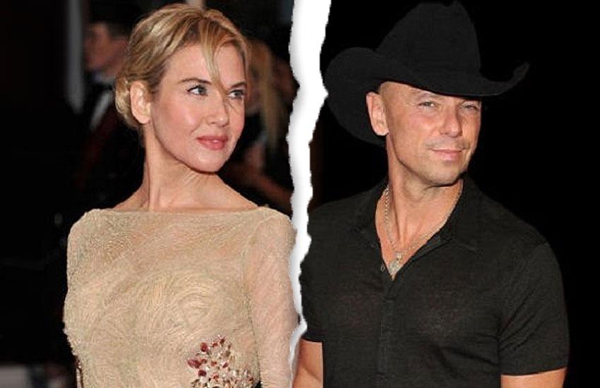 Рене Зеллвегер и Кенни Чесни звезды знаменитости развод расставание