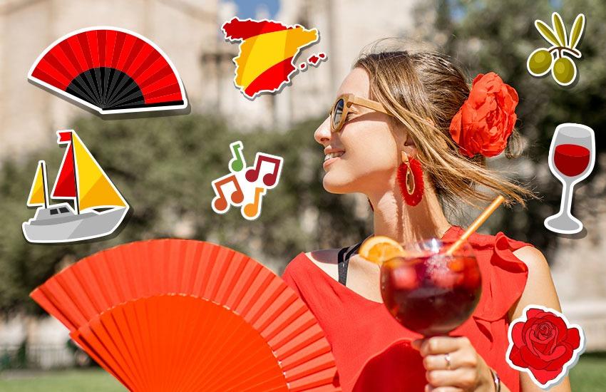 стиль мода Испания тренды украшения аксессуары путешествие