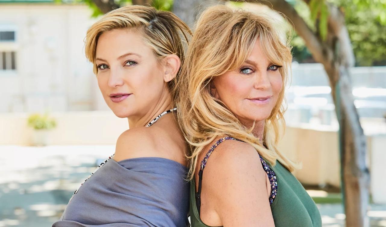 Голди Хоун и Кейт Хадсон мама дочка звезда Голливуд