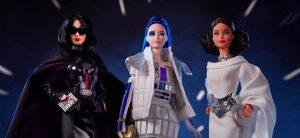 Mattel выпустила три куклы в честь «Звездных войн»