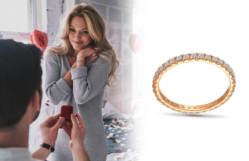 кольцо вечности ювелирное украшение мода тренды стиль