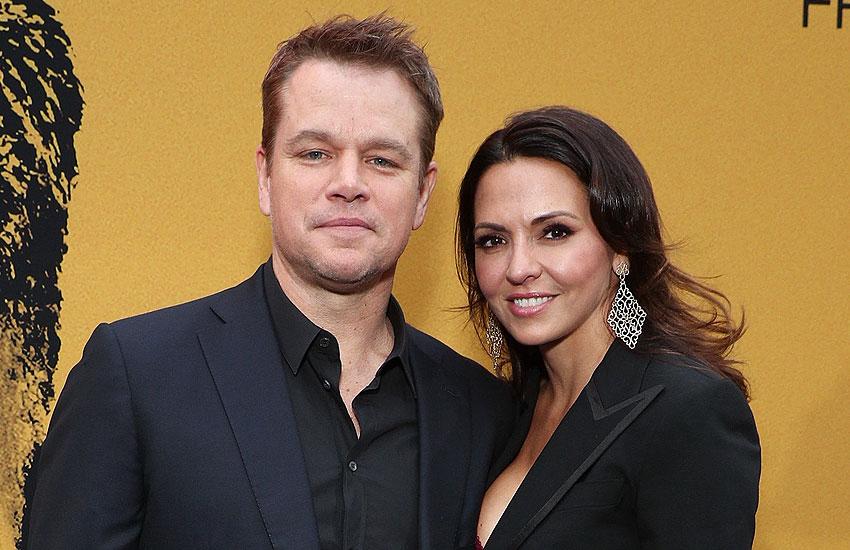 Мэтт Деймон с женой звезды, которые вышли замуж женились на фанатах
