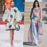 Неделя моды в Милане: 50 оттенков синего и полупрозрачность